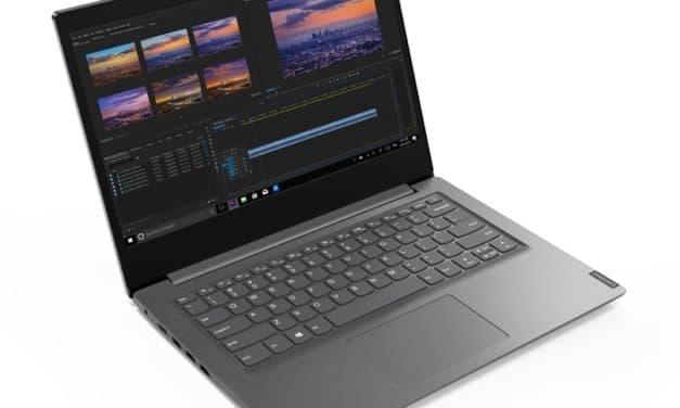 """Lenovo V14 ARE, PC portable 14""""s fin et léger avec Octo Core Ryzen Renoir"""