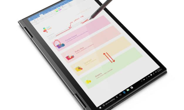 """Lenovo Yoga C740-14IML, ultrabook convertible tablette 14"""" stylet et bonne autonomie (879€)"""