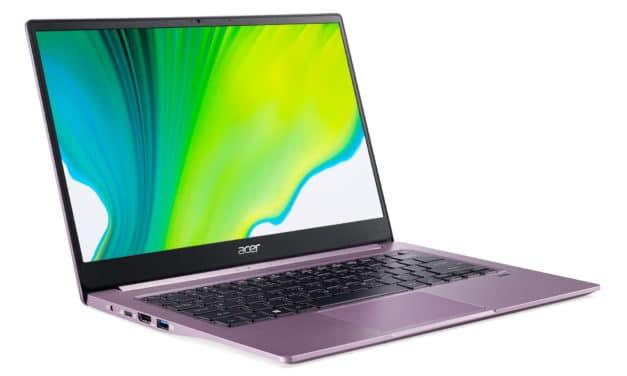 """Acer Swift 3 SF314-42-R9QD, ultrabook violet 14"""" léger et puissant avec Hexa Core (777€)"""