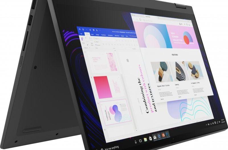 """<span class=""""nouveau"""">Nouveau 779€</span> Lenovo IdeaPad Flex 5 14ARE05, 14 pouces tablette puissant Hexa Core"""