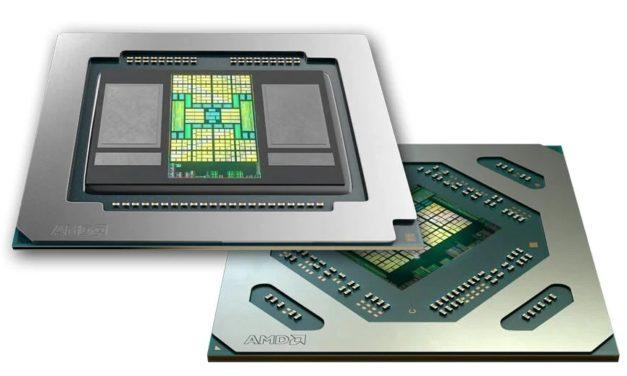 """<span class=""""tagtitre"""">AMD - </span>nouvelle carte graphique Radeon Pro 5600M HBM2, déjà embarquée dans l'Apple MacBook Pro 16 pouces"""
