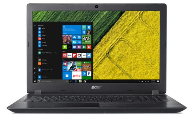 "Acer Aspire 3 A315-56-5205, Ultrabook 15"" noir léger fin et rapide SSD 512 Go (639€)"