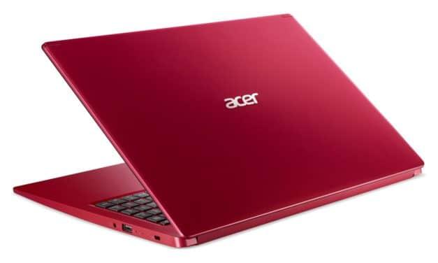 Acer Aspire 5 A515-55-594F, ultrabook 15 pouces rouge productif (649€)