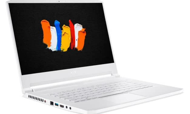 "Acer ConceptD 7 Pro CN715-71P-72Y5, Ultrabook 15"" 4K blanc créateur Pro RTX 3000 SSD 2 To (2899€)"