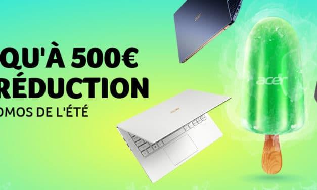 """<span class=""""tagtitre"""">Bon Plan - </span>jusqu'à 500 euros de remise sur des PC portables chez Acer France"""