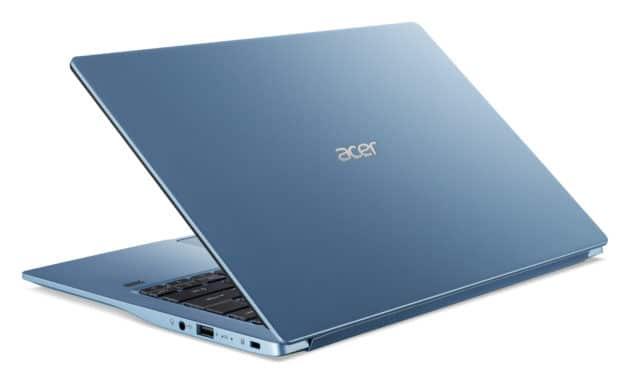Acer Swift SF314-57-71JB, ultrabook bleu 14 pouces léger multimédia (839€)