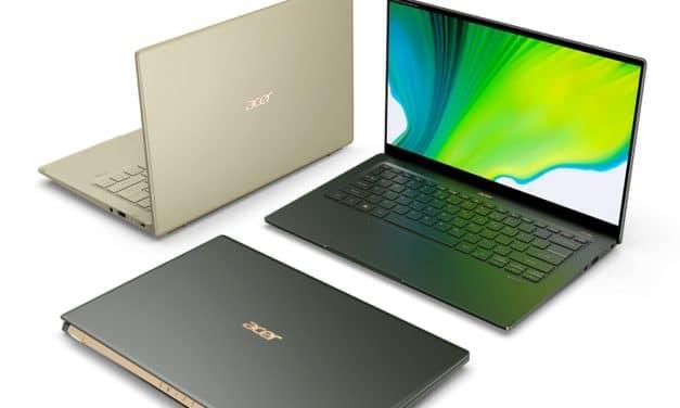 "<span class=""tagtitre"">Acer - </span>nouveaux Chromebook (Enterprise) Spin 713,  Spin 311 et Swift 5 Tiger Lake"