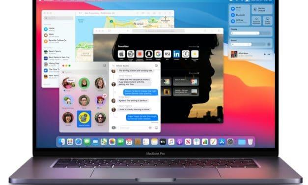 """<span class=""""tagtitre"""">WWDC 2020 - </span>Apple dévoile macOS Big Sur et acte le passage aux processeurs maison Silicon ARM"""