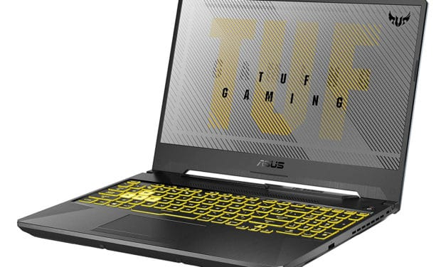 """Asus A15 TUF566IV-AL141T, PC gamer puissant 15"""" Ryzen 9 et RTX 2060 (1499€)"""
