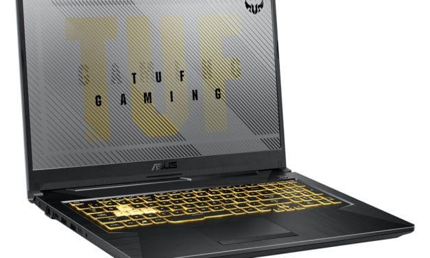 "<span class=""promo"">Promo 1399€</span> Asus A17 TUF766IU-H7074T, PC gamer 17 pouces polyvalent GTX 1660 Ti"