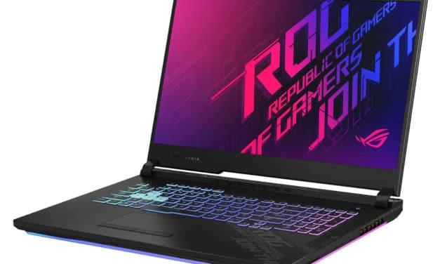 "Asus ROG Strix G17 G712LWS-EV015T, PC gamer 17"" jeu expert Octo Core et RTX 2070 Super (2099€)"