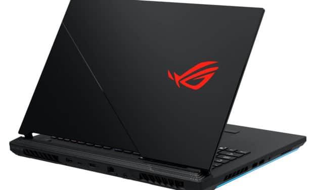 Asus ROG 17 G732LV-EV030T, PC gamer 17 pouces puissant Octo Core (1789€)