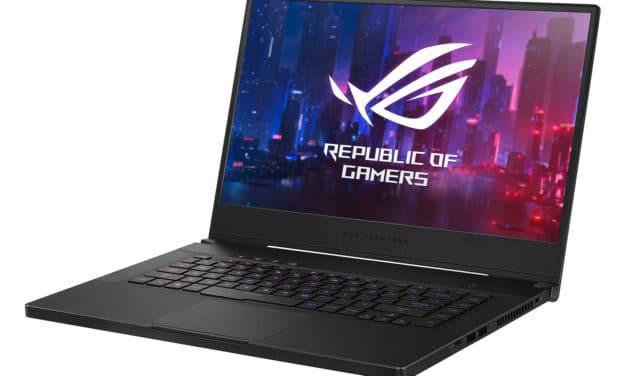 "<span class=""promo-best"">Promo 1309€</span> Asus ROG Zephyrus GU532GU-AZ076T, Ultrabook 240Hz gamer créateur fin et léger avec GTX 1660 Ti SSD 1 To"