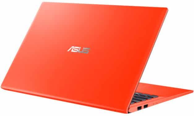 """Asus S412DA-EK344T, PC portable 14"""" orange polyvalent rapide fin et léger (639€)"""