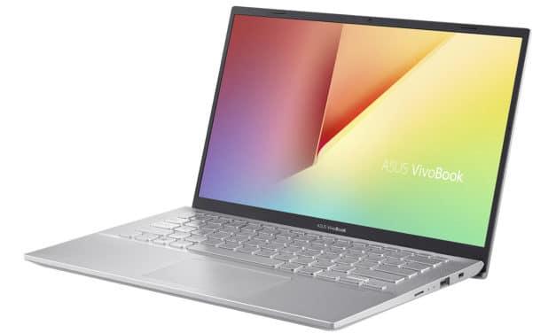 Asus VivoBook S412FA-EK837T, 14 pouces léger bureautique (469€)