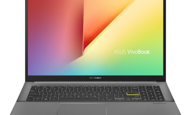"<span class=""promo"">Promo 879€</span> Asus VivoBook S533IA-BQ147T, ultrabook 15 pouces performant Octo Core"