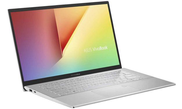 """Asus Vivobook 14 X412DA-EK545T, PC portable 14"""" argent polyvalent fin léger et rapide (699€)"""