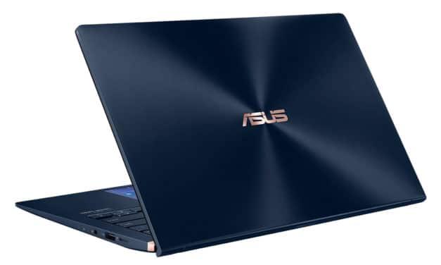 Asus ZenBook UX434FA-A5401R, ultrabook 14 pouces Pro élégant et rapide (1199€)