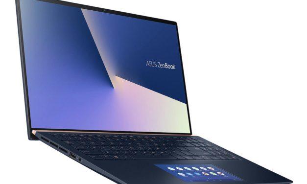 """Asus ZenBook UX534FA-A8155R, ultrabook 15"""" bleu, léger et réactif avec ScreenPad (1199€)"""