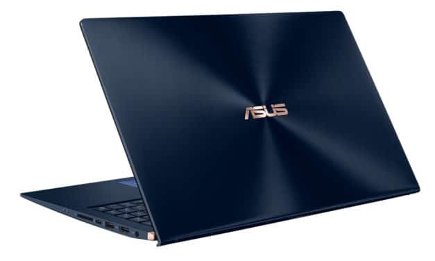 Asus ZenBook UX534FA-AA172T, ultrabook bleu et léger avec écran 4K et ScreenPad (1499€)