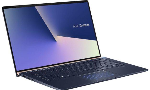 """Asus Zenbook UX434FA-AI394T, ultrabook tactile 14"""" productif avec pavé numérique (1109€)"""