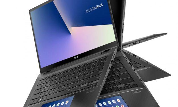 """Asus Zenbook UX463FA-AI069T, PC portable convertible tablette 14"""" léger et rapide SSD 1 To (1279€)"""