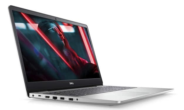 "Dell Inspiron 15 5593, Ultrabook 15"" polyvalent argent fin et rapide (899€)"