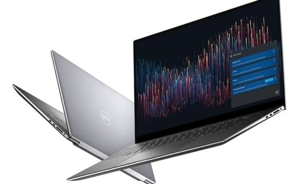 "Dell Precision 5750 et 7750, PC portables 17"" Pro 100% DCI-P3 Octo Core NVIDIA Quadro Thunderbolt 3"