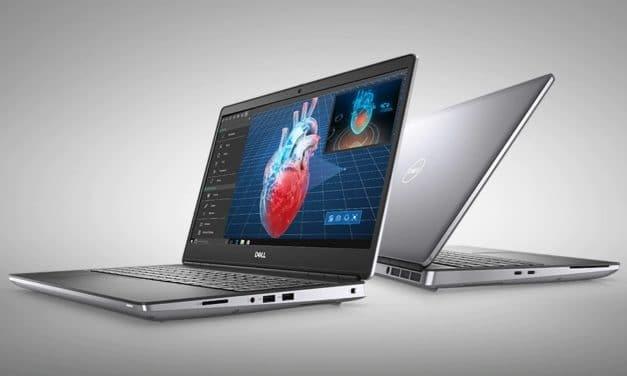 """Dell Precision 5550 et 7550, nouveaux PC portables 15"""" pour les Pro avec NVIDIA Quadro et Thunderbolt"""