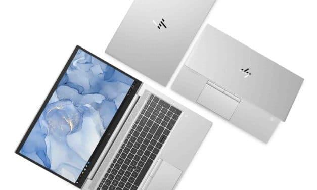HP EliteBook 800 G7 Intel Comet Lake et 805 G7 AMD Renoir, nouveaux PC portables argent 4G orientés Pro 23h