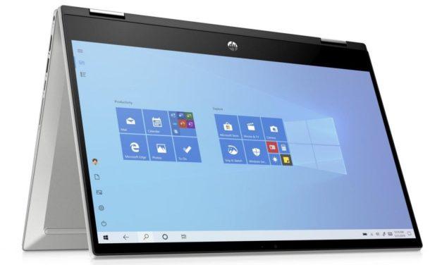 """HP Pavilion x360 14-dw0007nf, ultrabook convertible tablette 14"""" productif (799€)"""