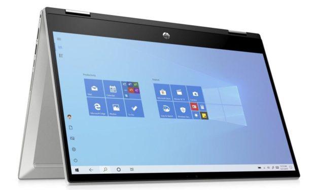 """HP Pavilion x360 14-dw0004nf, ultrabook 14"""" tablette bureautique rapide (587€)"""