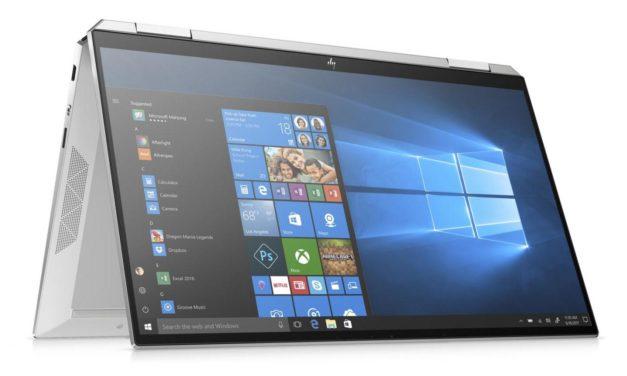 HP Spectre x360 13-aw0018nf, 13 pouces convertible tablette bonne autonomie (1529€)