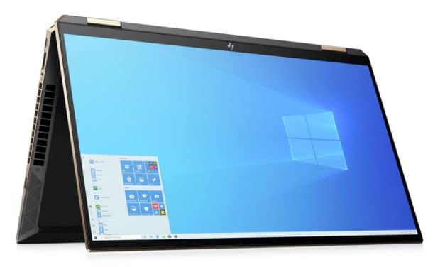 """<span class=""""soldes"""">Soldes 2199€</span> HP Spectre x360 15-eb0013nf, 15 pouces Tablette OLED 4K polyvalent et puissant GTX"""