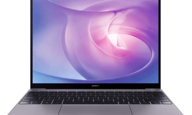 Huawei Matebook 13 AMD 2020, ultrabook 13 pouces léger métal bureautique (549€)