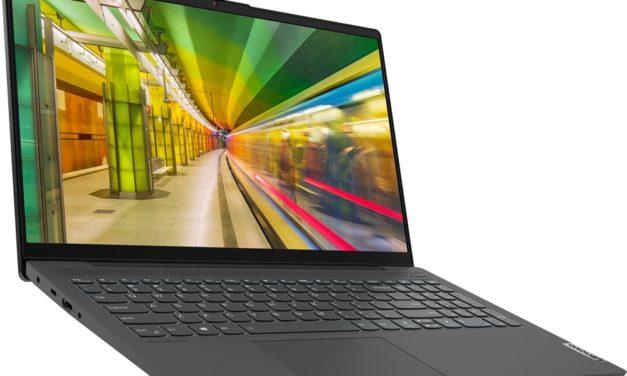Lenovo IdeaPad 5 15ARE05, 15 pouces léger et puissant avec Octo Core (835€)