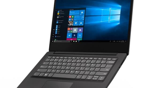 "<span class=""promo"">Promo 539€</span> Lenovo IdeaPad S145-14API (81UV0087FR), PC portable 14"" noir polyvalent rapide fin et léger"