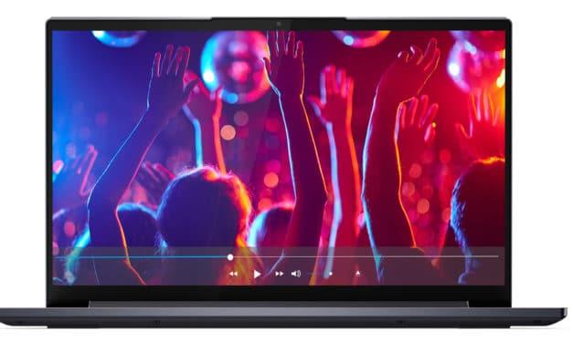 "Lenovo Yoga Slim 7 14ARE05, ultrabook léger 14"" endurant et puissant avec Hexa Core (679€)"