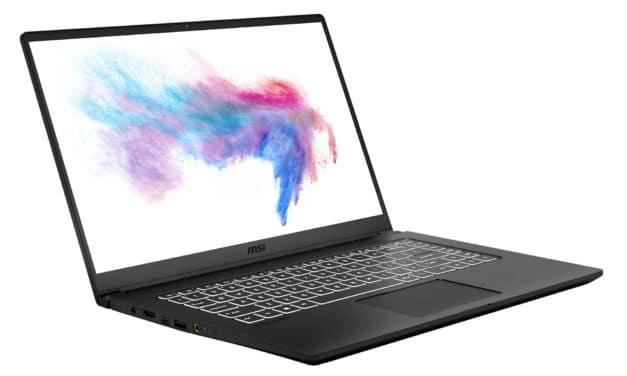 """MSI Modern 15 A10RAS-212FR, Ultrabook 15"""" polyvalent noir nomade rapide fin et léger (949€)"""