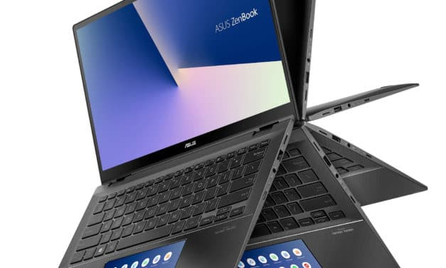 "Asus Zenbook UX463FA-AI057T, 14"" convertible tablette avec ScreenPad (1039€)"
