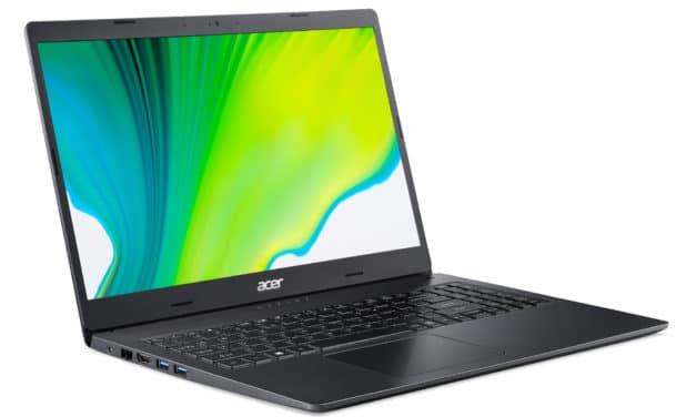 Acer Aspire 3 A315-23-R7C5, PC portable pas cher 15 pouces bureautique (399€)