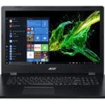 """<span class=""""nouveau"""">Nouveau 449€</span> Acer Aspire 3 A317-32-P958, PC portable 17"""" noir pas cher avec gros stockage et graveur CD/DVD"""