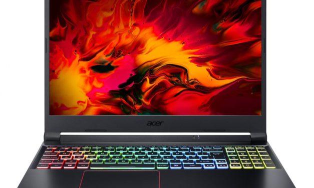 Acer Nitro 5 AN515-55-50BL, PC portable gamer 15 pouces GTX 1650 Ti (999€)