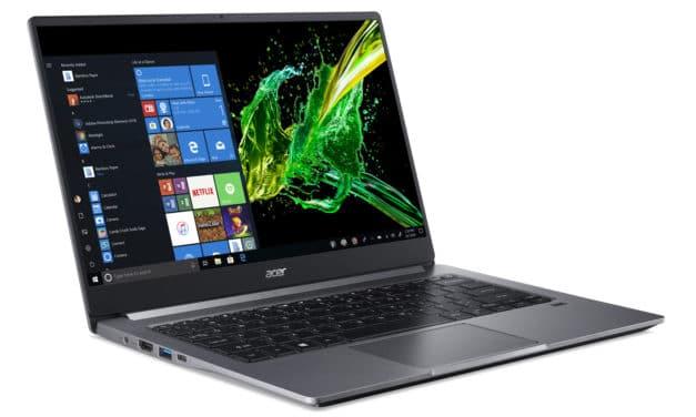 "Acer Swift 3 SF314-57-554E, Ultrabook 14"" Pro léger 1.2 Kg, fin rapide et nomade 8h (899€)"