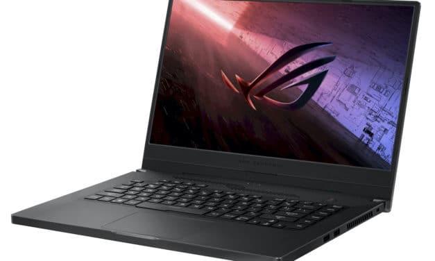"""<span class=""""promo-best"""">Promo 1410€</span> Asus ROG Zephyrus G15 GA502IV-008T, PC gamer 15 pouces compact avec RTX 2060 et Octo Core"""