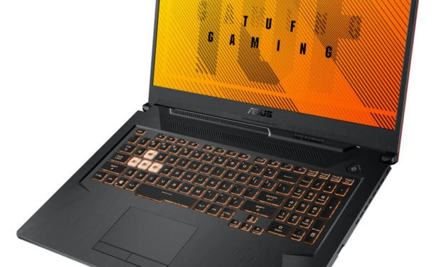 Asus Gaming A17 TUF706II-H7075T, 17 pouces gamer et polyvalent rapide (1199€)