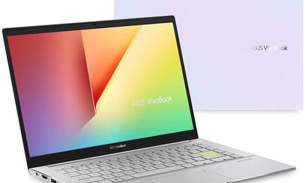 Asus VivoBook M433IA-EB372T, ultrabook 14 pouces léger et puissant avec Ryzen 7 Octo Core (799€)