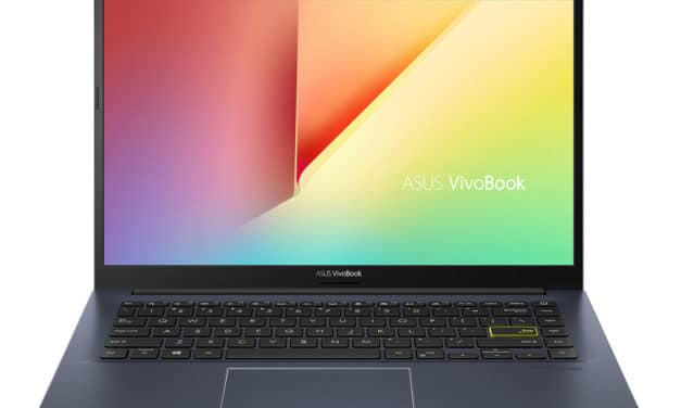 "<span class=""promo"">Promo 639€</span> Asus VivoBook S14 S413FA-EK164T, Ultrabook 14"" bleu rapide fin et léger"