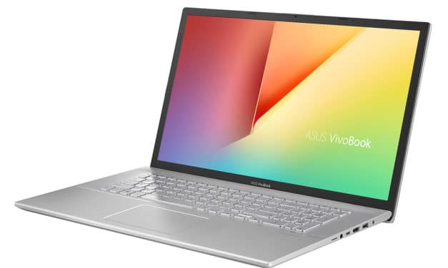 Asus VivoBook S712FA-AU588T, 17 pouces fin et rapide multimédia (1039€)