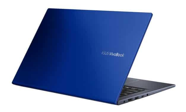 """Asus Vivobook S413FA-EK671T, Ultrabook 14"""" bleu léger fin et rapide avec Optane et NumPad (499€)"""